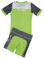 Boy UV Sun Protection Surf Combo Swim Set UPF 50+, FEDJOA Top T shirt Shorts BIZKAïA