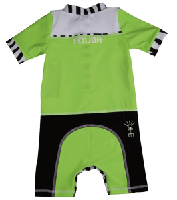 All-in-one UV Protection sunsuit UPF 50+ Sand resistant JUNGLE