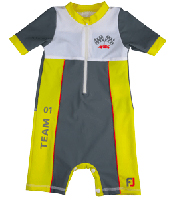 Boy All-in-one UV Protection sunsuit UPF50+ Sand resistant  TEAM ONE