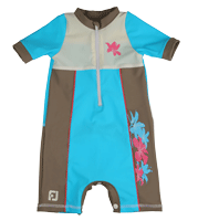 Boy All-in-one UV Protection sunsuit UPF50+ Sand resistant   ALOHA