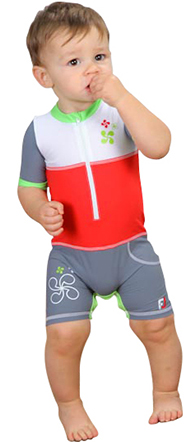 Boy All-in-one UV Protection sunsuit UPF50+ Sand resistant BIZKAïA