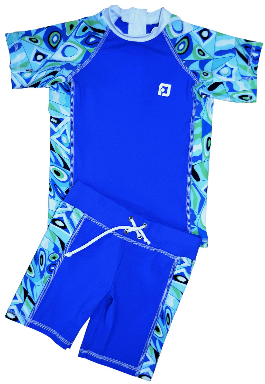 Uv t shirt uv shorts uv sun protection combo swim set for Sun protection t shirts
