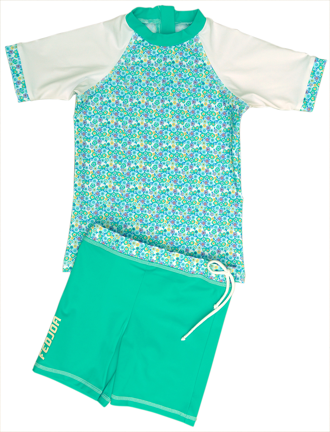 2d44b985af UV T-shirt, UV Shorts, UV Sun Protection Combo Swim Set- for babies and  kids LOLA